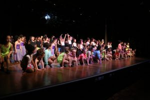 A group shot of performers at Studio 01's end of year dance recital